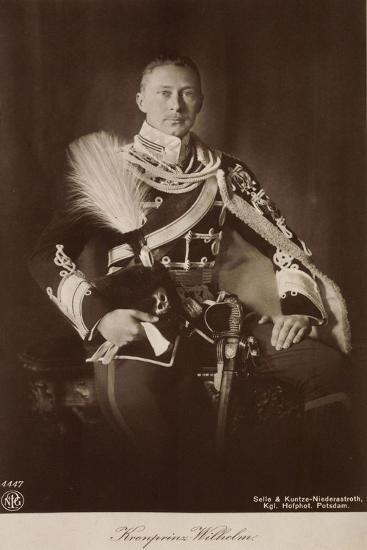 Kronprinz Wilhelm V Preußen, Frack, Npg 4447--Giclee Print