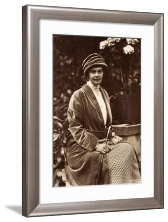 Kronprinzessin Cecilie Zu Mecklenburg, Npg 4872--Framed Giclee Print