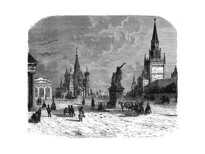 Krusnaya Place, Moscow, C1890--Giclee Print
