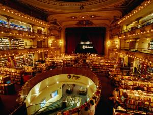 El Ateneo Bookstore, in an Old Gran Splendid Theatre Building from 1919, Buenos Aires, Argentina by Krzysztof Dydynski