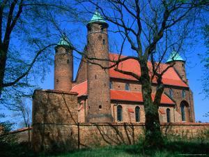 Fortified Church of St. Rocco, Brochow, Mazowieckie, Poland by Krzysztof Dydynski