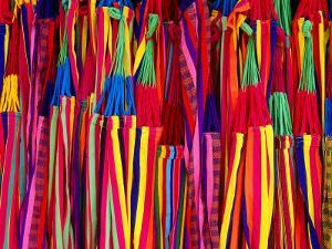 Hammocks Displayed for Sale at Market, Barranquilla, Colombia by Krzysztof Dydynski