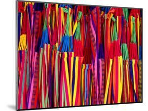 Hammocks Displayed for Sale at Market, Barranquilla, Colombia by Krzysztof Dydynski