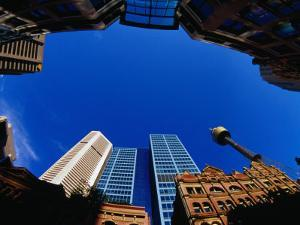 Historic and Modern Buildings, Sydney, Australia by Krzysztof Dydynski