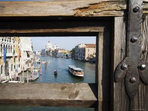 Ponte dell' Accademia, Venice, Italy by Krzysztof Dydynski