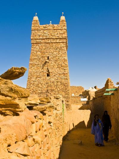 Ksar of the Medieval Trading Centre of Chinguetti, UNESCO World Heritage Site, Northern Mauritania-Michael Runkel-Photographic Print