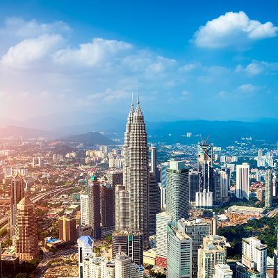Kuala Lumpur Skyline, Malaysia.-r nagy-Photographic Print