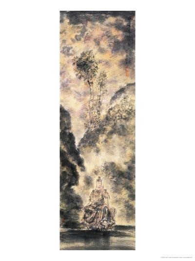 Kuanyin Practices Buddhist Rules-Chen Yang Si-Giclee Print