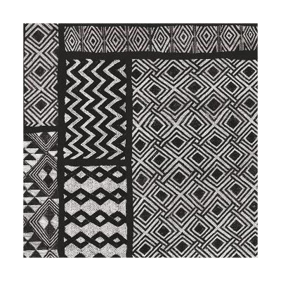 Kuba Abstract I BW-Sue Schlabach-Art Print