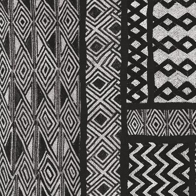 Kuba Abstract II BW-Sue Schlabach-Art Print