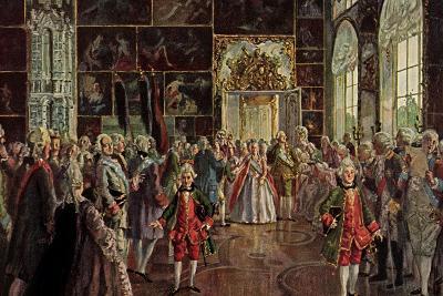 Künstler Benois A., Paradeaufzug Der Kaiserin--Giclee Print