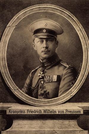 Künstler Bieber, E., Kronprinz Friedrich Wilhelm--Giclee Print