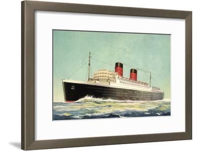 Künstler Cunard White Star, Steamer Mauretania