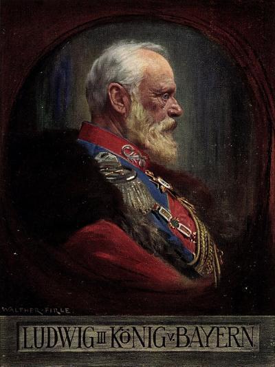 Künstler Firle, W., Ludwig III, König Von Bayern--Giclee Print