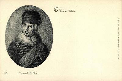 Künstler General Hans Joachim Von Zieten, Preußen--Giclee Print