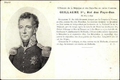 Künstler Guillaume I, Roi, Pay Bas,Adel Niederlande--Giclee Print