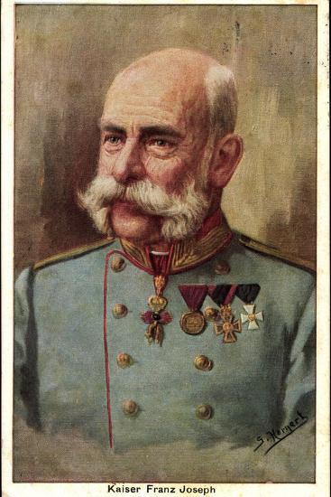 Künstler Hornert, G., Kaiser Franz Joseph, Portrait--Giclee Print