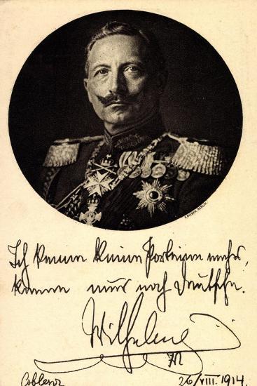 Künstler Kaiser Wilhelm II, Ich Kenne Keine Parteien--Giclee Print