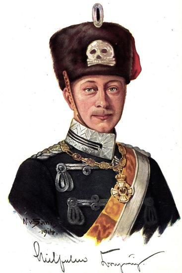 Künstler Kronprinz Wilhelm Von Preußen Als Husar--Giclee Print
