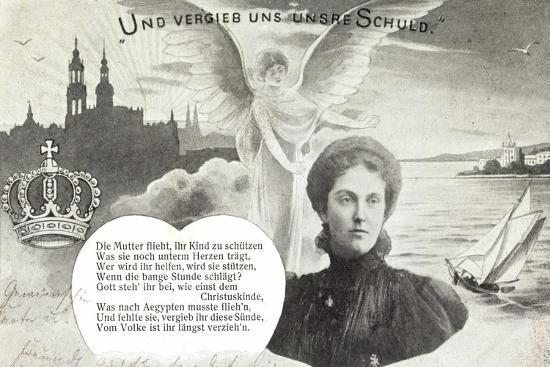 Künstler Kronprinzessin Luise, Schuldvergebung,Engel--Giclee Print
