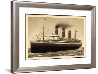 Künstler Le Havre, Paquebot Ile De France, Cgt--Framed Giclee Print