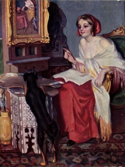 Künstler Pap, E., Kis Kotnyeles, Ein Nascher, Hund--Giclee Print