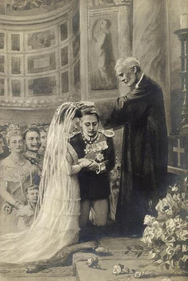 Künstler Preußen, Hochzeit, Kronprinz, Berliner Dom--Giclee Print