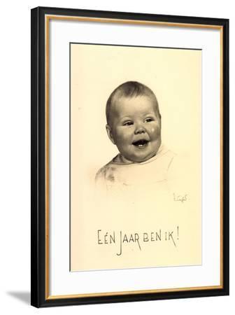 Künstler Prinzessin Beatrix Der Niederlande, 1939--Framed Giclee Print