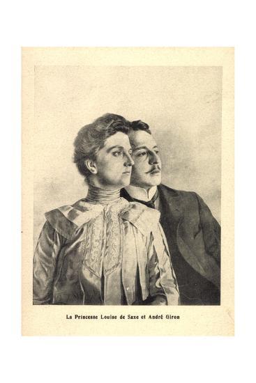Künstler Prinzessin Louise Von Sachsen, Andre Giron--Giclee Print