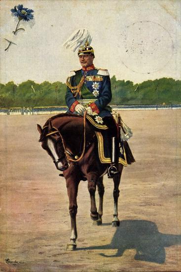 Künstler Starcke, König Friedrich August III, Pferd--Giclee Print