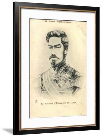 Künstler Tenno Meiji Mutsuhito, Kaiser Von Japan--Framed Giclee Print
