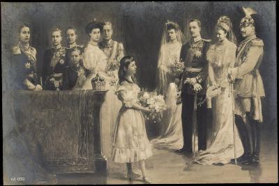 Künstler Wilhelm II, Hochzeit Eitel Friedrichs--Giclee Print