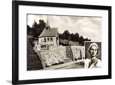 Küssnacht Am Rigi Kt. Schwyz, Astrid Von Belgien--Framed Giclee Print