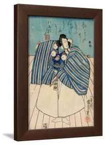Actor Ichikawa Danjuro Viii by Kuniyoshi Utagawa