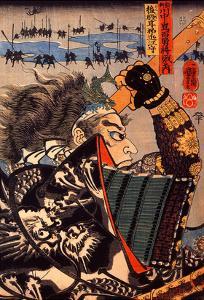 Amakasu Omi No Kami by Kuniyoshi Utagawa