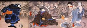 Apparition of the Monstrous Cat by Kuniyoshi Utagawa