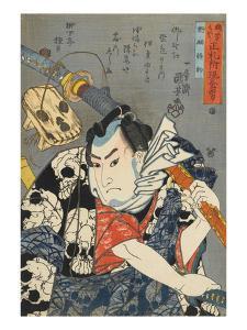 Nozarashi Gosuke by Kuniyoshi Utagawa