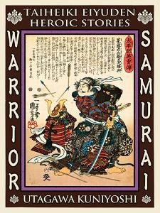Samurai Saito Tatsuoki by Kuniyoshi Utagawa