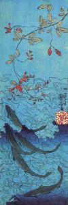 Sharks by Kuniyoshi Utagawa