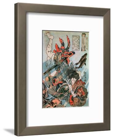 Tameijiro Dan Shogo Grappling with an Adversary under Water