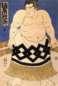 The Sumo Wrestler by Kuniyoshi Utagawa