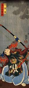Yorimasa Shooting at the Monster Nuye by Kuniyoshi Utagawa