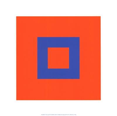 Kunst der Farbe-Johannes Itten-Serigraph