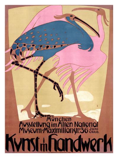 Kunst Im Handwerk-Bruno Paul-Giclee Print