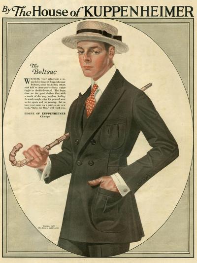 Kuppenheimer, Magazine Advertisement, USA, 1910--Giclee Print