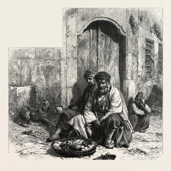 Kurdish Dealers, Constantinople, Istanbul, Turkey, 19th Century--Giclee Print