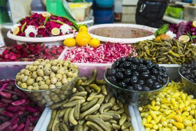 Kurdish Food in the Bazaar of Sulaymaniyah. Kurdistan, Iraq-Michael Runkel-Photographic Print