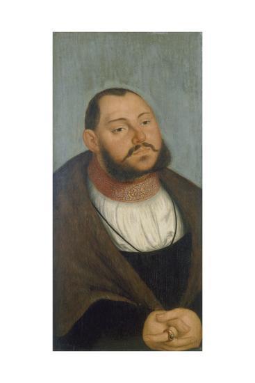 Kurfuerst Johann Friedrich Der Grossmuetige-Lucas Cranach the Elder-Giclee Print