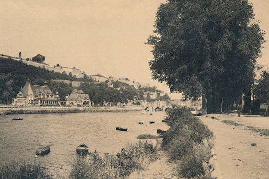 'Kursaal et Pont de Jambes', c1900-Unknown-Photographic Print