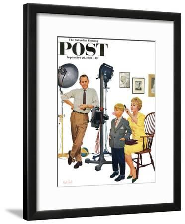 """At the Photographer"" Saturday Evening Post Cover, September 26, 1959"